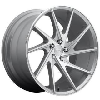 NICHE WHEELS  INVERT M162 SILVER MACHINED RIM