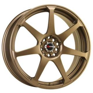 DRAG WHEELS  DR33 RALLY BRONZE FULL PAINTED RIM