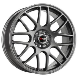 DRAG WHEELS  DR34 CHARCOAL GRAY FULL PAINTED RIM