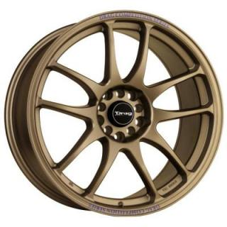 DRAG WHEELS  DR31 RALLY BRONZE FULL PAINTED RIM