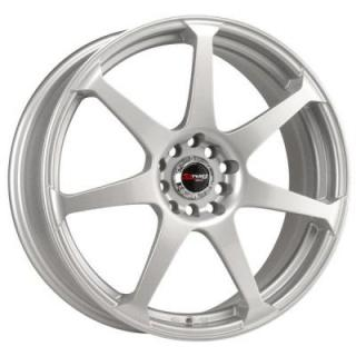 DRAG WHEELS  DR33 SILVER FULL PAINTED RIM