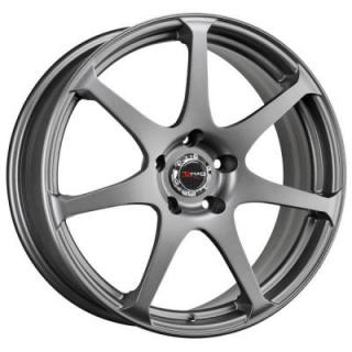 DRAG WHEELS  DR48 CHARCOAL GRAY FULL PAINTED RIM