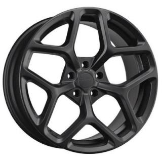 DR64 FLAT BLACK FULL PAINTED RIM by DRAG WHEELS