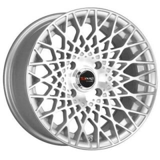 DR65 SILVER RIM with MACHINED FACE by DRAG WHEELS