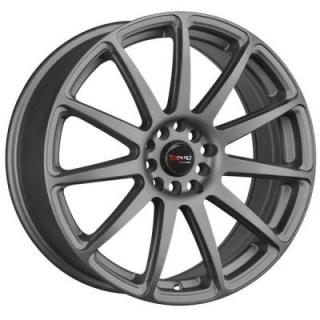 DR66 CHARCOAL GRAY FULL PAINTED RIM by DRAG WHEELS