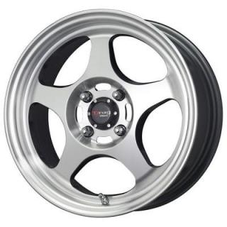 DR23 GUNMETAL RIM with MACHINED FACE by DRAG WHEELS