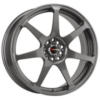 DRAG WHEELS  DR33 CHARCOAL GRAY FULL PAINTED RIM