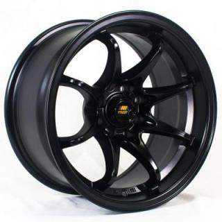 MST WHEELS  MT04 MATTE BLACK RIM