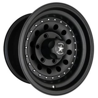 BANDIT II MATTE BLACK RIM by REBEL RACING WHEELS