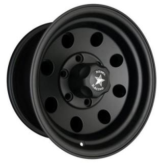 REBEL RACING WHEELS  SAHARA MATTE BLACK RIM