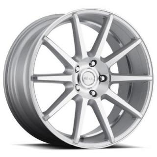 DANZA SILVER RIM with MACHINED FACE and UNDERCUT from VOXX WHEELS