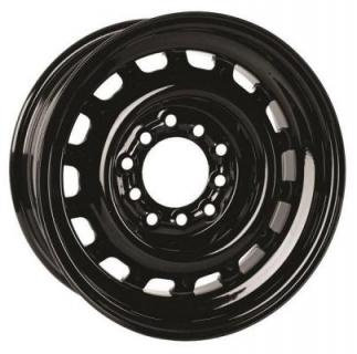 SPECIAL BUY WHEELS  HOTRODHANKS STEEL ARTILLERY GLOSS BLACK RIM - Cap Not Included