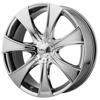 SPECIAL BUY WHEELS  HELO HE874 BRIGHT PVD RIM