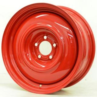 SPECIAL BUY WHEELS  HOTRODHANKS STEEL PT SMOOTHIE BARON RED - Cap Not Included