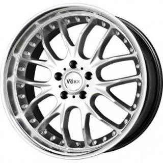 SPECIAL BUY WHEELS  VOXX MAGLIA HYPER SILVER RIM with MIRROR MACHINED FACE