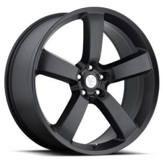 VOXX WHEELS  VOXX REPLICA CHARGER MATTE BLACK RIM
