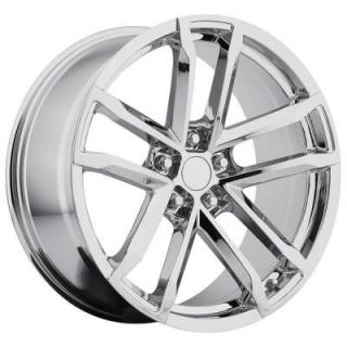 FACTORY REPRODUCTIONS WHEELS  CHEVY CAMARO ZL1 2012 STYLE 41 CHROME RIM