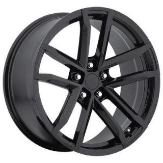 FACTORY REPRODUCTIONS WHEELS  CHEVY CAMARO ZL1 2012 STYLE 41 GLOSS BLACK RIM
