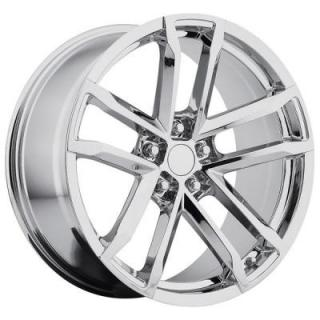 FACTORY REPRODUCTIONS WHEELS  CHEVY CAMARO ZL1 2012 STYLE 41 PVD CHROME RIM