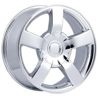 FACTORY REPRODUCTIONS WHEELS  CHEVY 1500 SS STYLE 33 CHROME RIM