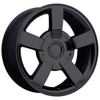 FACTORY REPRODUCTIONS WHEELS  CHEVY 1500 SS STYLE 33 GLOSS BLACK RIM