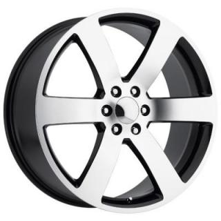 CHEVY TRAILBLAZER SS STYLE 32 BLACK MACHINED FACE RIM from FACTORY REPRODUCTIONS WHEELS