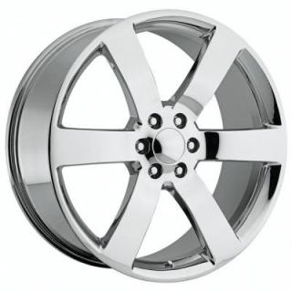 CHEVY TRAILBLAZER SS STYLE 32 CHROME RIM from FACTORY REPRODUCTIONS WHEELS