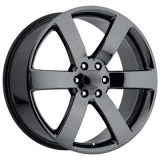 CHEVY TRAILBLAZER SS STYLE 32 PVD BLACK CHROME RIM from FACTORY REPRODUCTIONS WHEELS