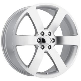 CHEVY TRAILBLAZER SS STYLE 32 SILVER MACHINED FACE RIM from FACTORY REPRODUCTIONS WHEELS