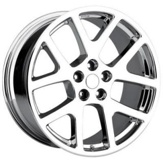 FACTORY REPRODUCTIONS WHEELS  JEEP VIPER STYLE 64 CHROME RIM