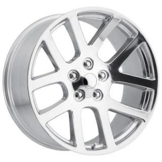 FACTORY REPRODUCTIONS WHEELS  DODGE RAM SRT10 STYLE 60 POLISHED RIM