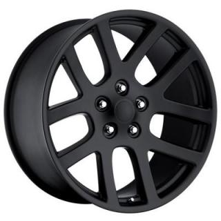 FACTORY REPRODUCTIONS WHEELS  DODGE RAM SRT10 STYLE 60 SATIN BLACK RIM