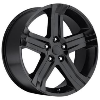 FACTORY REPRODUCTIONS WHEELS  DODGE RAM RT 2013 STYLE 69 GLOSS BLACK RIM