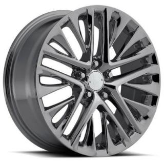 FACTORY REPRODUCTIONS WHEELS  LEXUS ES450 2013 STYLE 87 PVD BLACK CHROME RIM