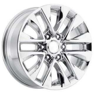 FACTORY REPRODUCTIONS WHEELS  LEXUS GX460 2014 STYLE 86 PVD CHROME RIM
