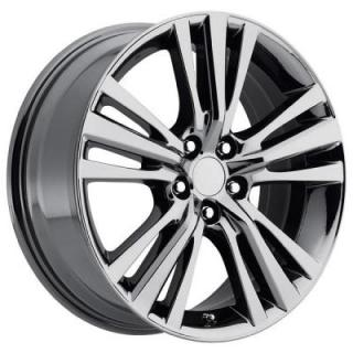 FACTORY REPRODUCTIONS WHEELS  LEXUS RX350/450 2015 STYLE 88 PVD BLACK CHROME RIM