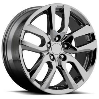 FACTORY REPRODUCTIONS WHEELS  LEXUS NX200/NX300H STYLE 81 PVD BLACK CHROME RIM