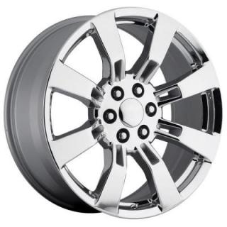 FACTORY REPRODUCTIONS WHEELS  GMC DENALI/ESCALADE 2009 STYLE 40 CHROME RIM