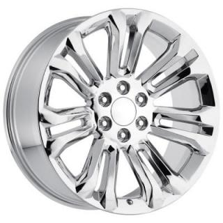 FACTORY REPRODUCTIONS WHEELS  GMC 2015 STYLE 55 CHROME RIM