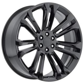 FACTORY REPRODUCTIONS WHEELS  GMC 2015 STYLE 55 GLOSS BLACK RIM