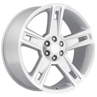 CHEVY 2015 SILVERADO 1500 STYLE 34 SILVER MACHINED FACE RIM from FACTORY REPRODUCTIONS WHEELS