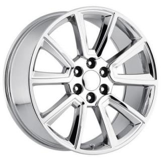 FACTORY REPRODUCTIONS WHEELS  CHEVY 2015 TAHOE STYLE 57 PVD CHROME RIM