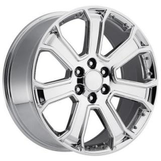 FACTORY REPRODUCTIONS WHEELS  GMC 2015 YUKON DENALI STYLE 49 PVD CHROME RIM
