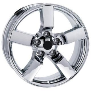 FACTORY REPRODUCTIONS WHEELS  FORD LIGHTNING 2001 STYLE 50 CHROME RIM