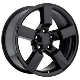 FACTORY REPRODUCTIONS WHEELS  FORD LIGHTNING 2001 STYLE 50 GLOSS BLACK RIM