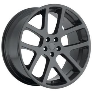FACTORY REPRODUCTIONS WHEELS  DODGE LX VIPER STYLE 64 COMP GREY RIM