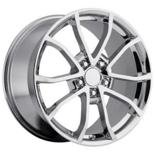 FACTORY REPRODUCTIONS WHEELS  CORVETTE CUP C6 2012 STYLE 25 CHROME RIM