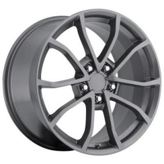 FACTORY REPRODUCTIONS WHEELS  CORVETTE CUP C6 2012 STYLE 25 COMP GREY RIM