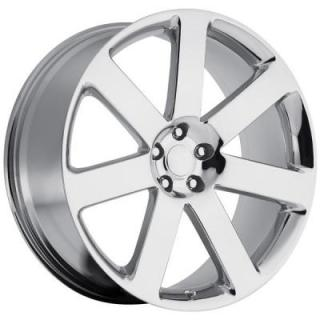 FACTORY REPRODUCTIONS WHEELS  CHRYSLER 300C SRT8 2012 STYLE 67 CHROME RIM