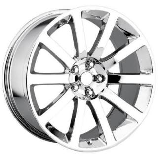 FACTORY REPRODUCTIONS WHEELS  CHRYSLER 300C SRT8 STYLE 65 CHROME RIM